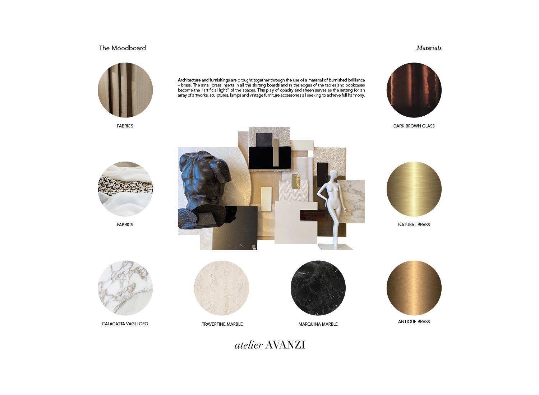 Moodboard - Materials atelier Avanzi}