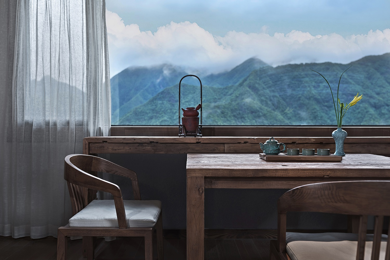 Tea area Xiao En