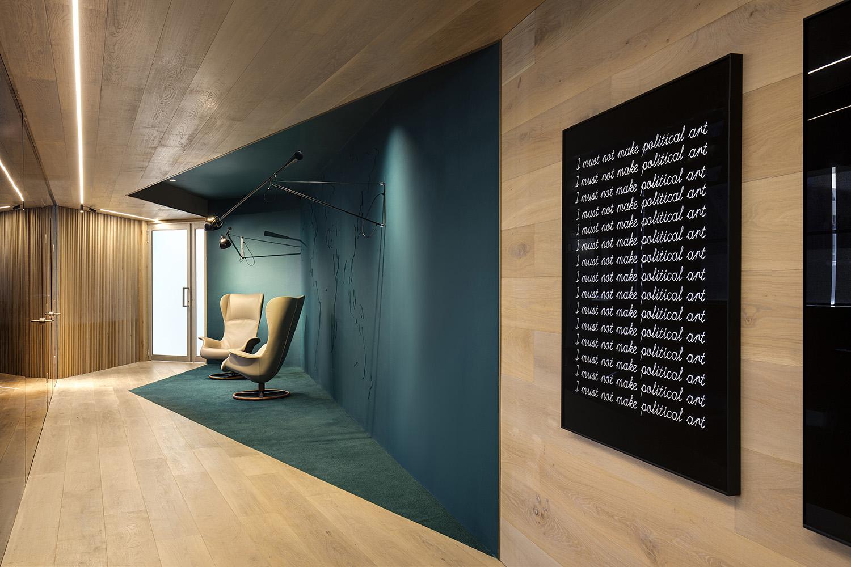Non-linear corridor - Lounge Adam Letch