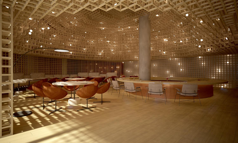 Kosushi Miami Restaurant - Render 2 STUDIO ARTHUR CASAS}