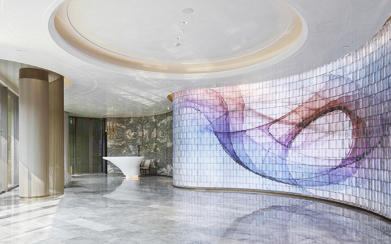 Reception lobby Tian Xia