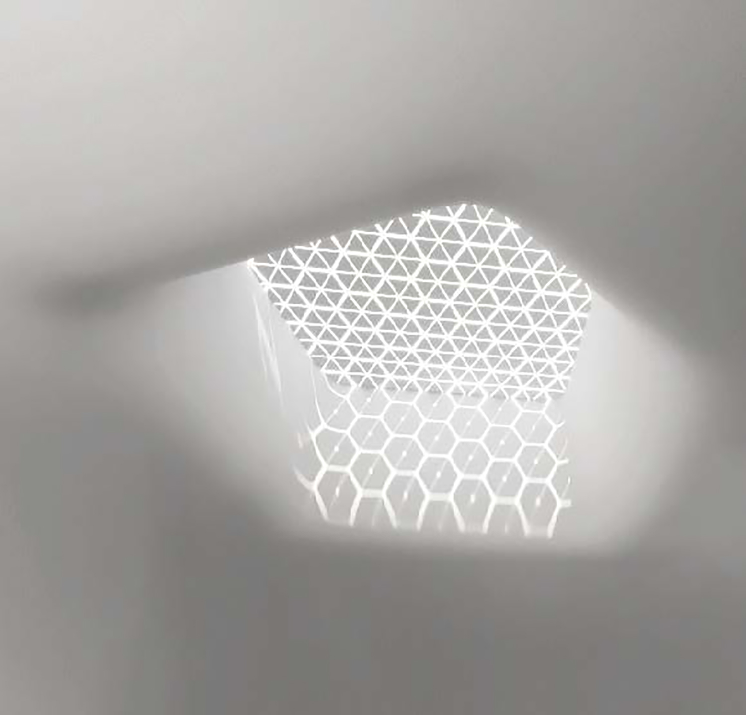 LIght through the whole on the ceiling Bin Wu}