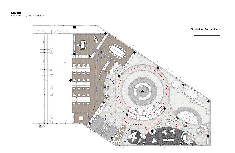 Layout-Second Floor Harmony World Consultant & Design}