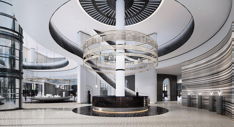 reception Harmony World Consultant & Design