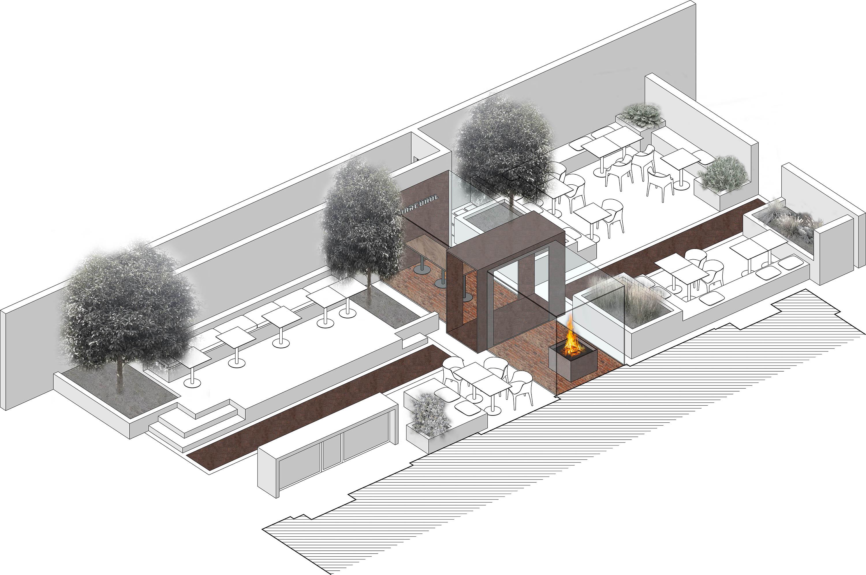 courtyard STUDIO8}