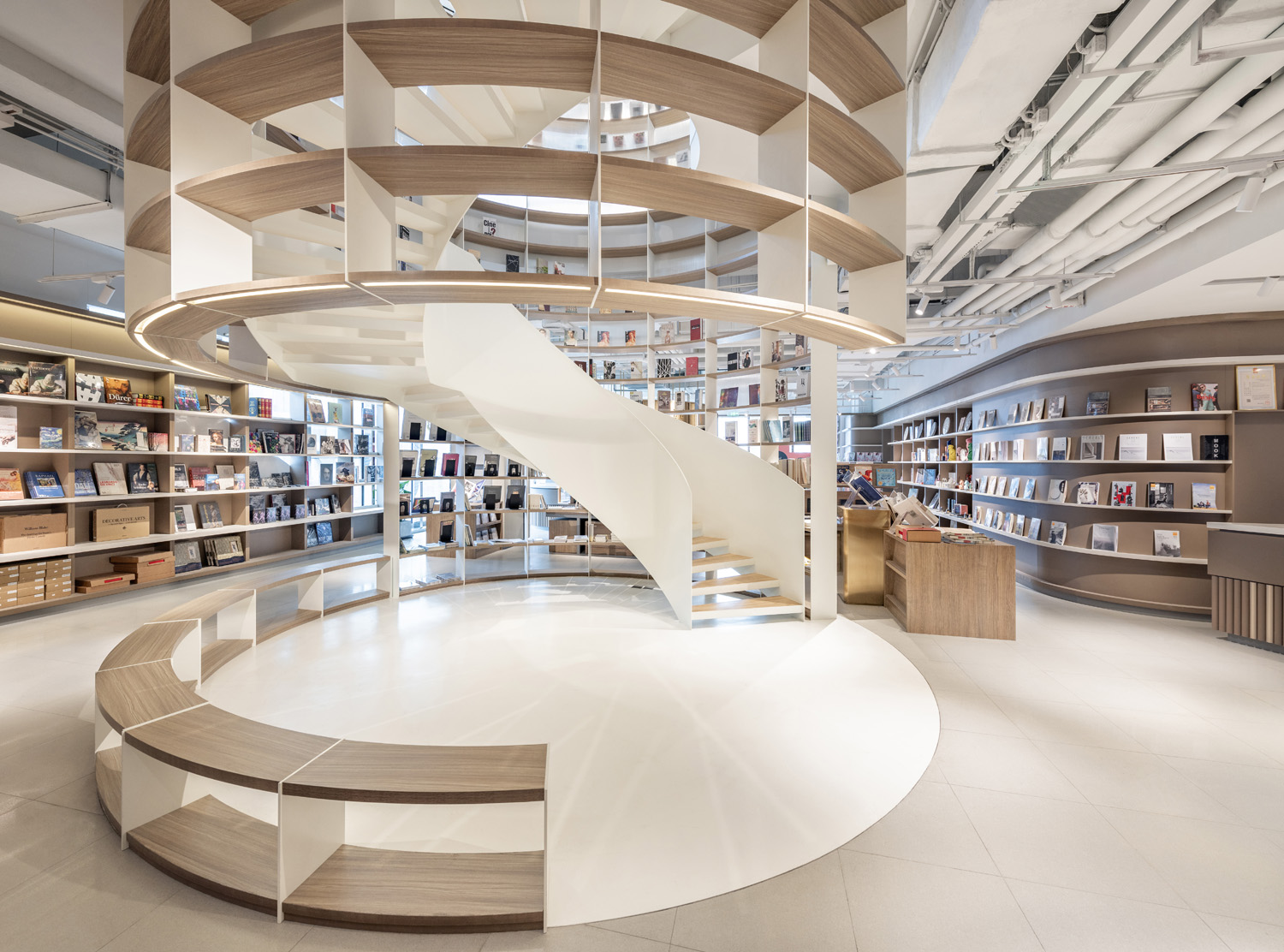 The Bookstore Staircase Dirk Weiblen