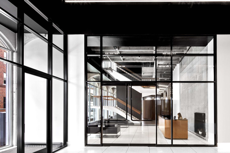 Studio Entrance Eric Laignel