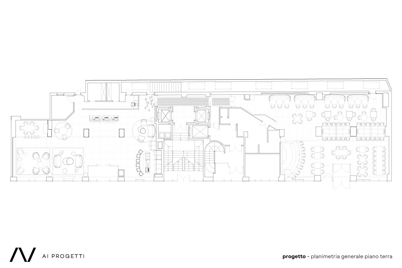 Ground floor plan AI Progetti}