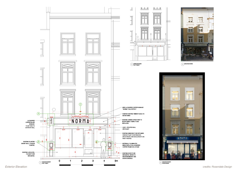 Exterior Elevation Rosendale Design}