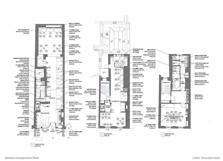 General Arrangements Plans Rosendale Design}