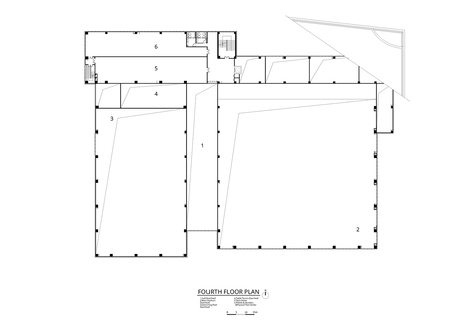 Fourth Floor Plan Atelier Alter Architects}