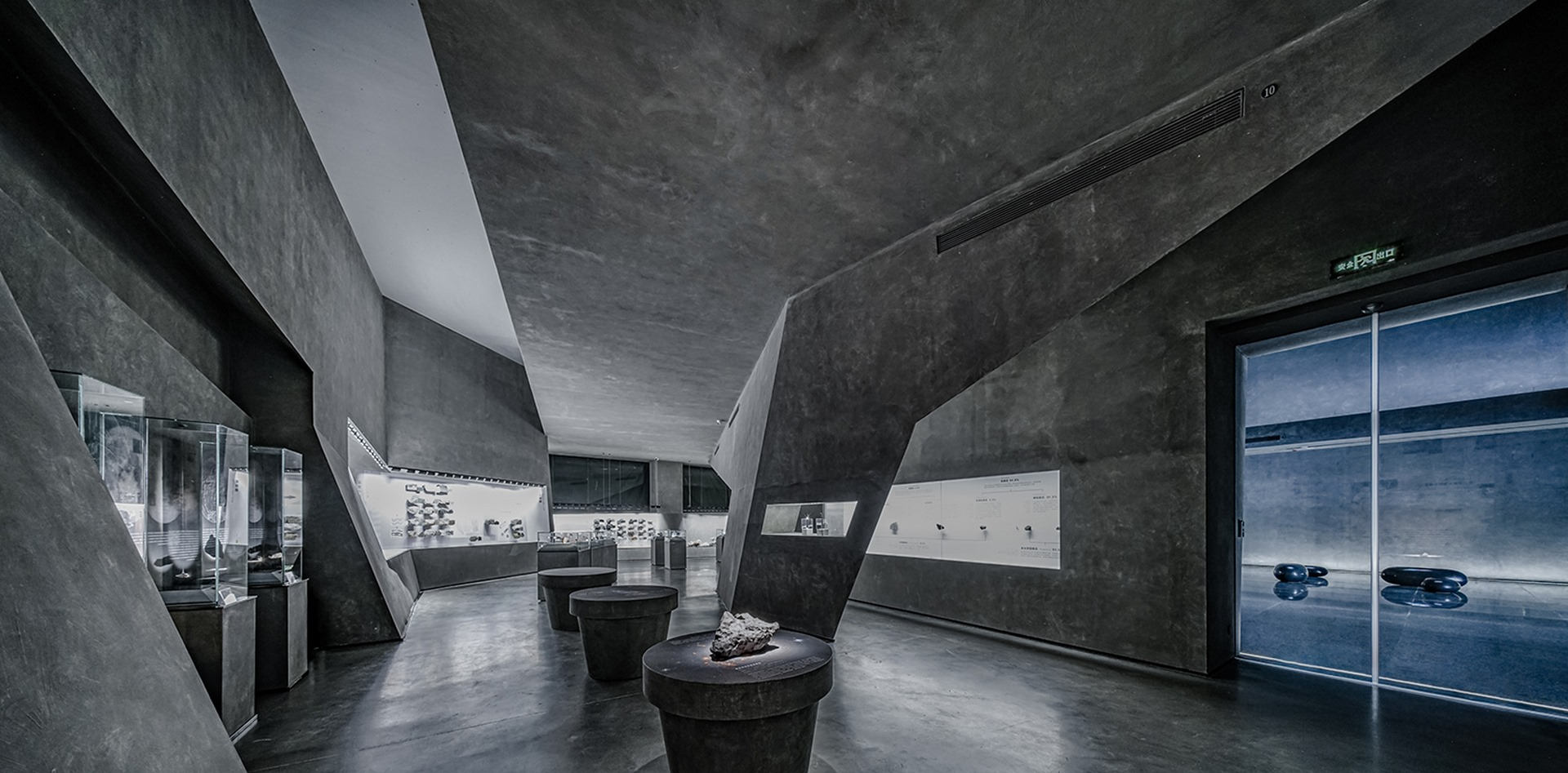 Exhibition space Atelier Alter Architects