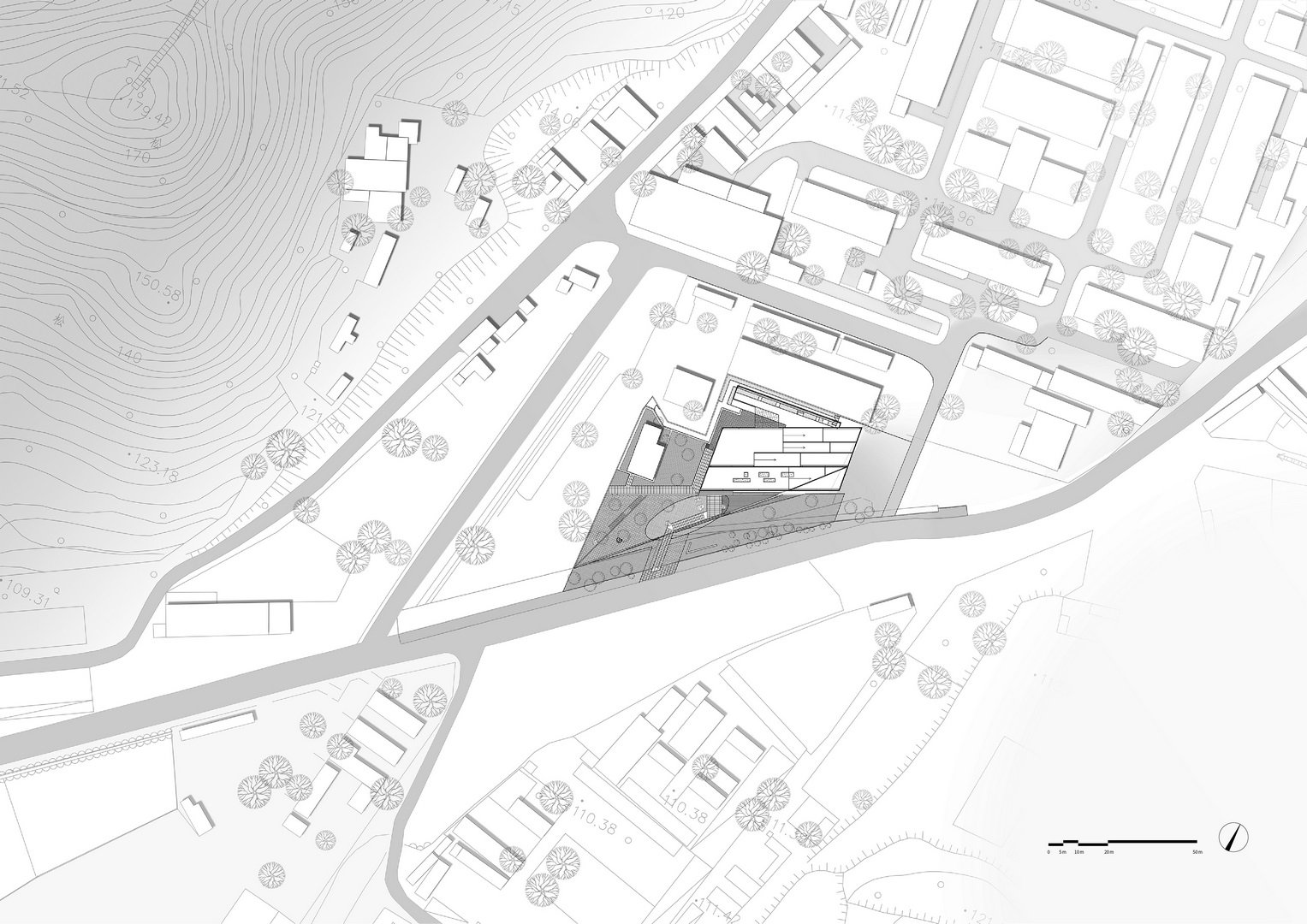 Site plan Atelier Alter Architects}