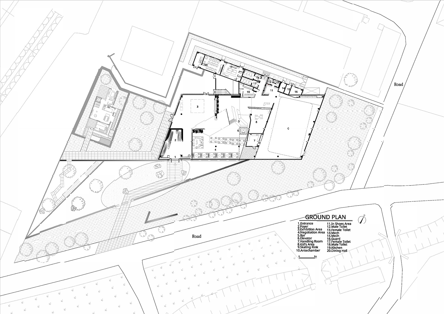 Ground plan Atelier Alter Architects}