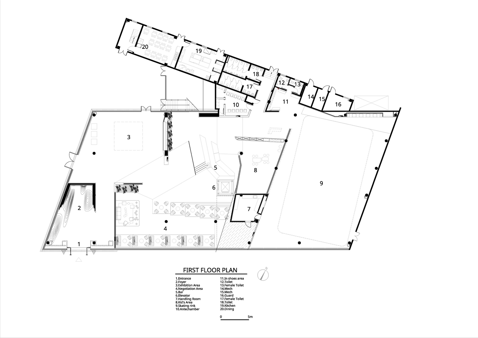 First floor plan Atelier Alter Architects}