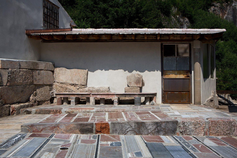 quarry workshop new entrance ramp Filippo Simonetti
