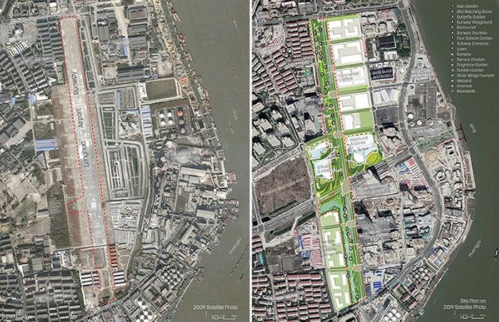 Existing Conditions Plan & Site Plan Sasaki, Google Map}
