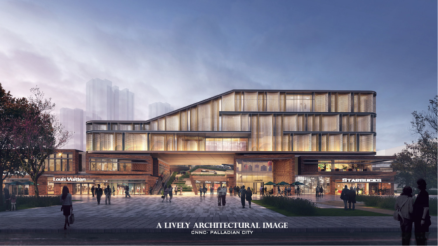 RENDERING - A LIVELY ARCHITECTURE IMAGE Yan Li