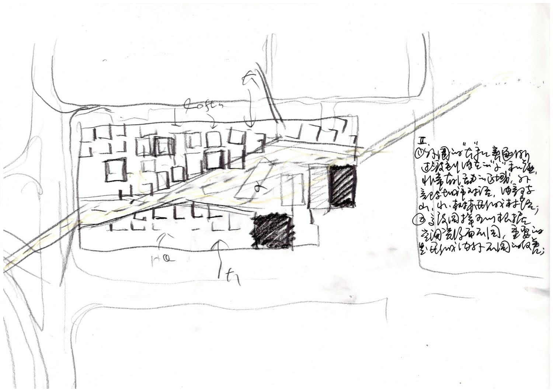 "Sketch of the""village""by Meng Yan ©URBANUS}"