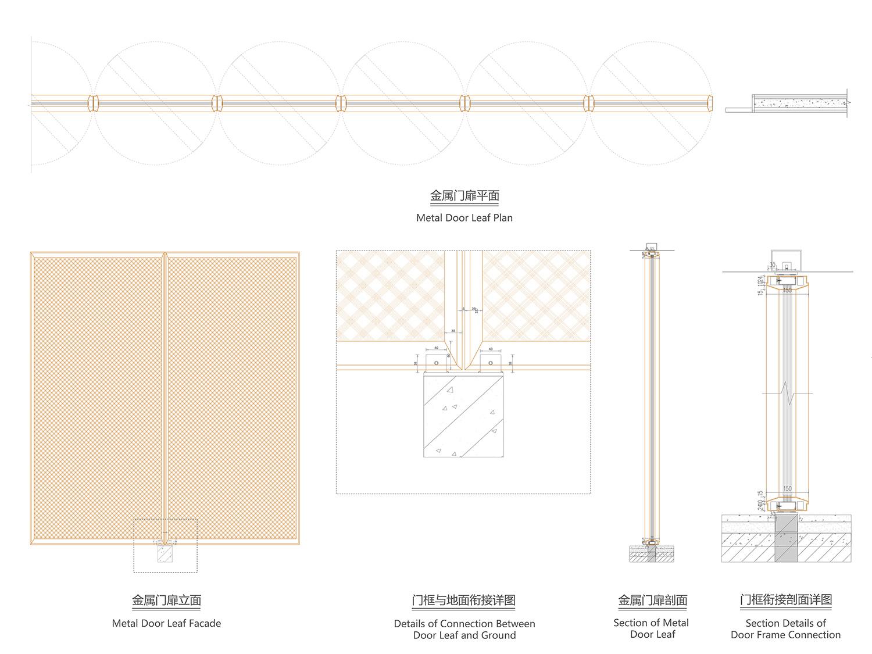 details of door leaf gad · line+ studio}