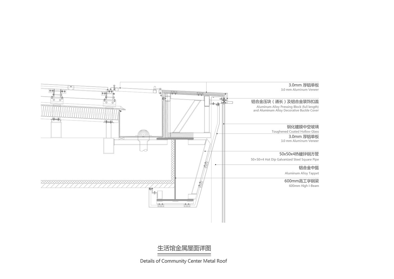 details of metal roof gad · line+ studio}