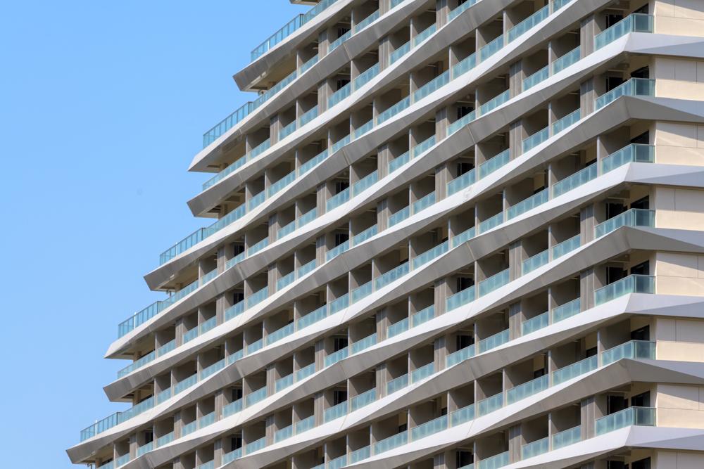 The facade texture DC ALLIANCE