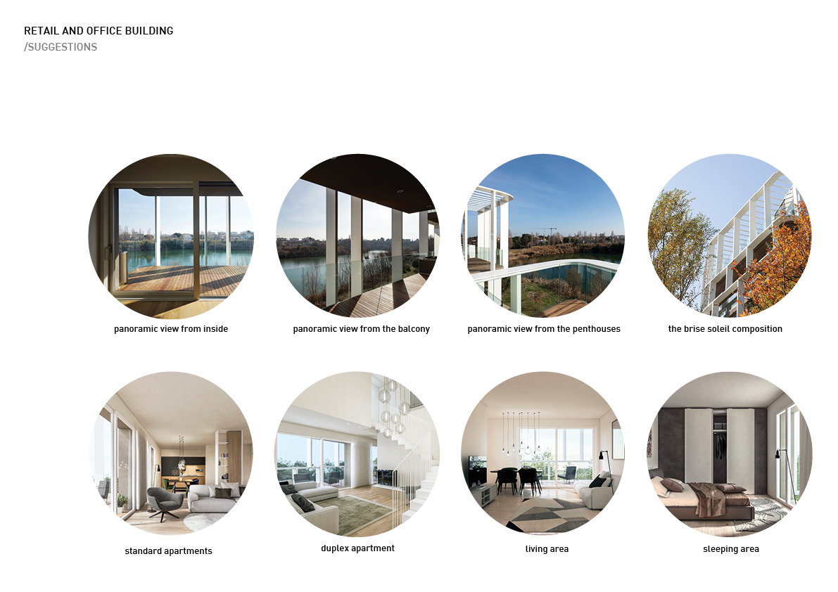 The residential area - suggestions Alessandro Bucci Architetti}