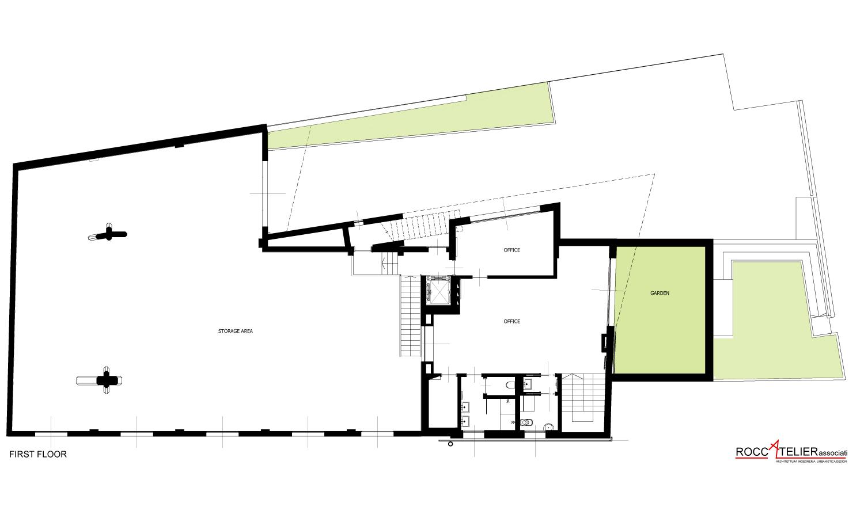 first floor roccatelier associati}