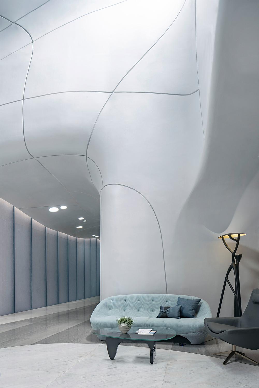 Yun Xi Jin Ting Sale Center Lvfeng Photography - Chen Weizhong courtesy of Nemesi Architects
