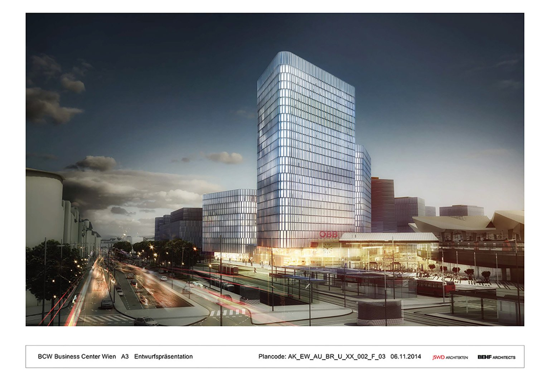 THE ICON / Visualisation 1 BEHF Architects}