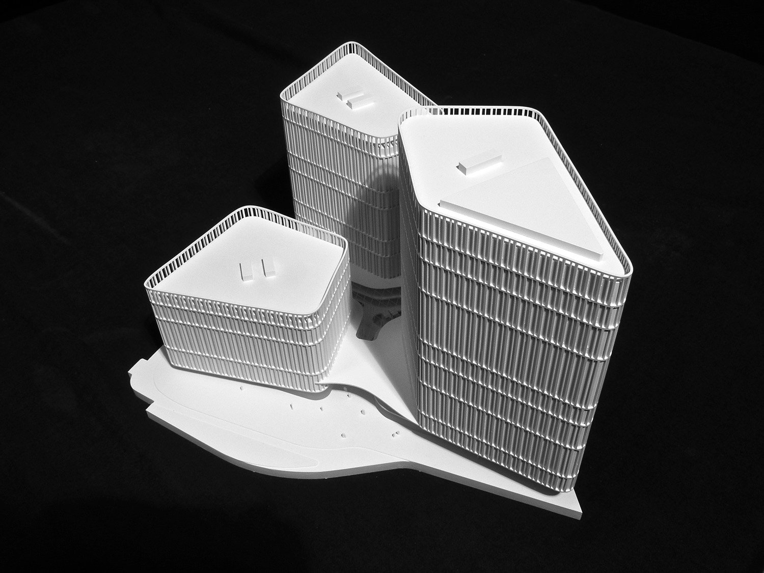 THE ICON / Model BEHF Architects}