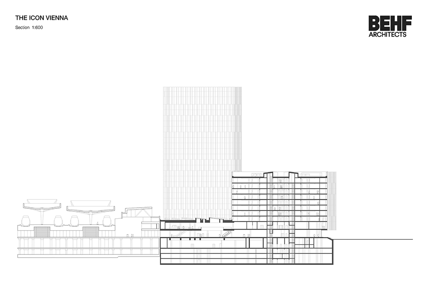 THE ICON / Section BEHF Architects}
