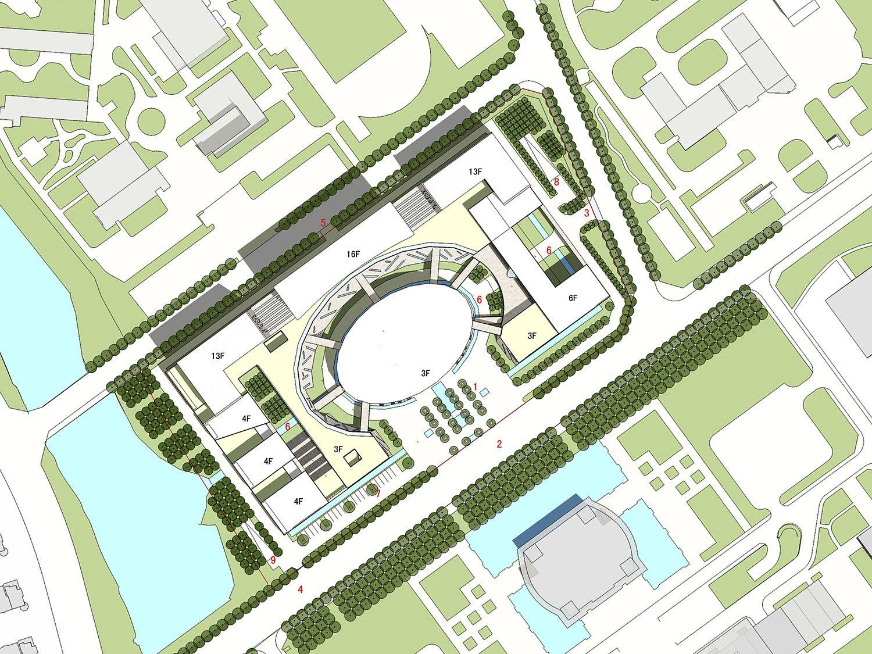 The master plan Shenzhen HOOP Architectural Design Co., ltd}
