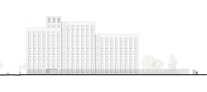 Facade Southwest Silvio d'Ascia Architecture}