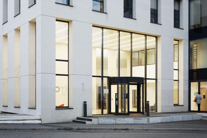The Entrance of the office building O'rigin Takuji Shimmura