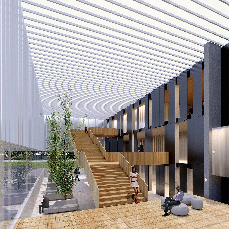 La fabbrica trasparente -render 5 Salvatore Terranova Architetto