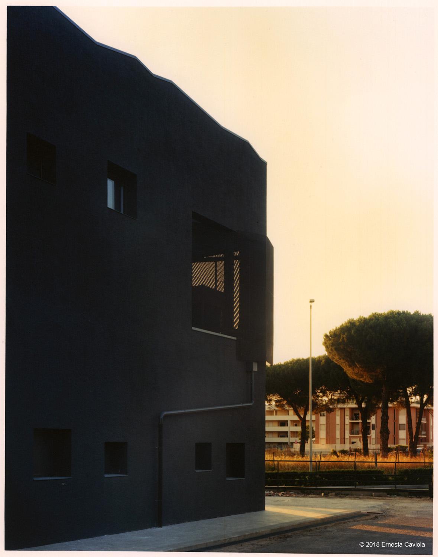 dettaglio facciata est Ernesta Caviola