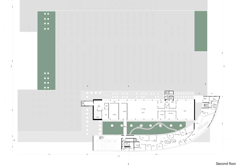 Secondo piano monovolume architecture + design}