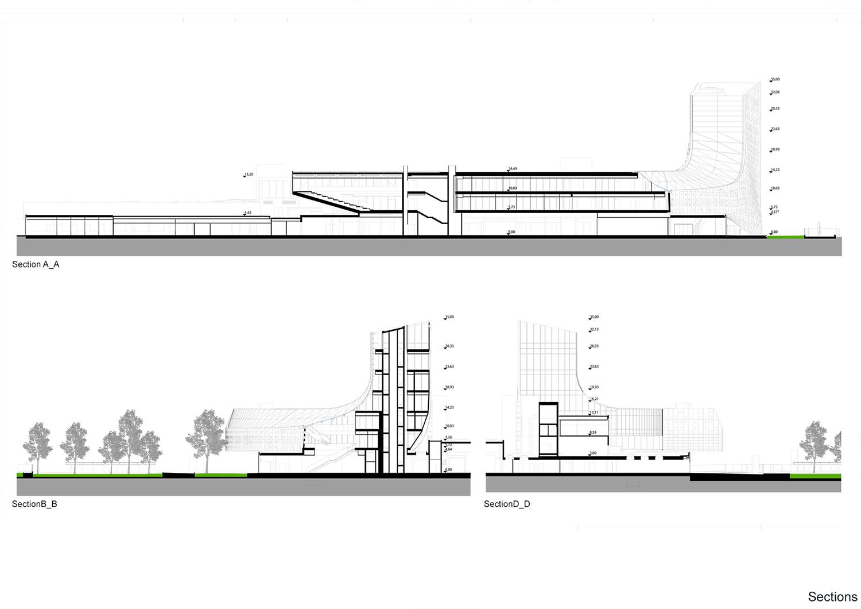 Sezioni monovolume architecture + design}