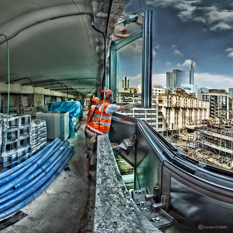 Foto di cantiere - Facciate Donato Di Bello