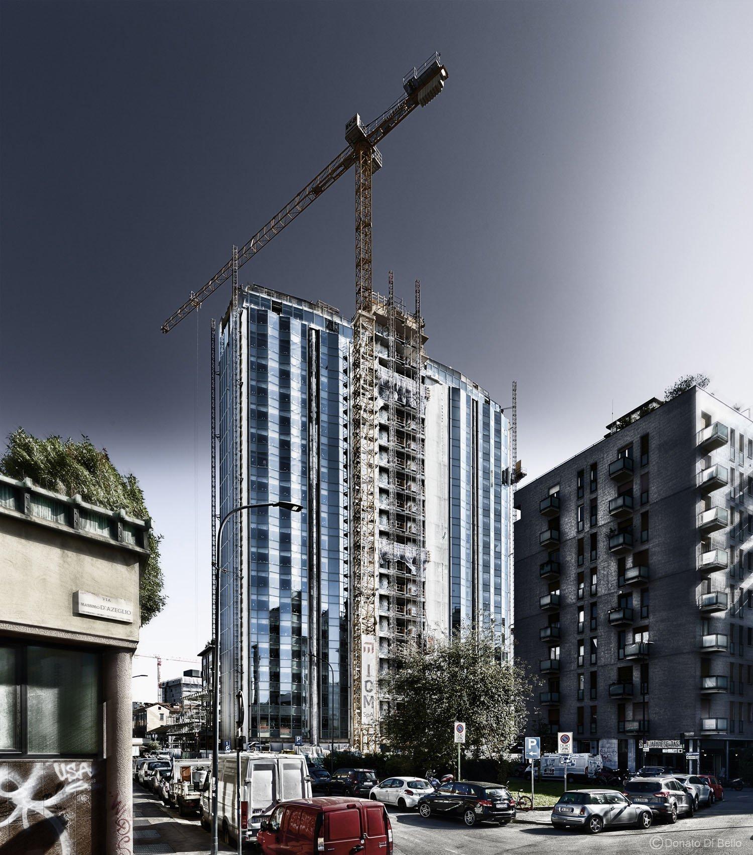 Foto di cantiere - Torre Donato Di Bello