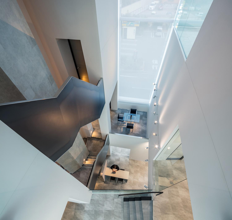 The Atrium from above ©Stirling Elmendorf