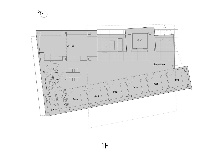 First Floor Plan ©KTX archiLAB}