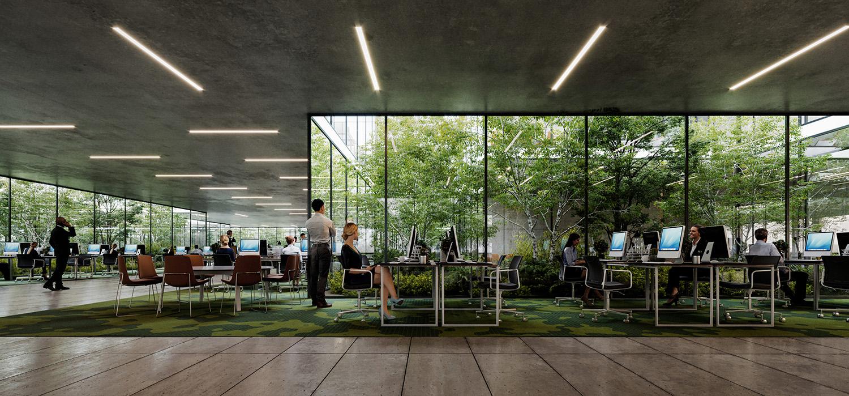 OIZ Office rendering ivabox