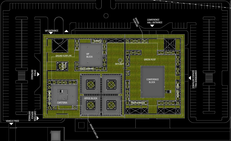 OIZ Office Site Plan Yazgan Design Architecture}
