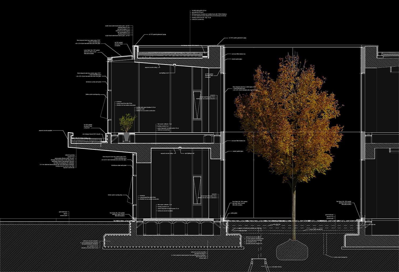 OIZ Office System Section Yazgan Design Architecture}