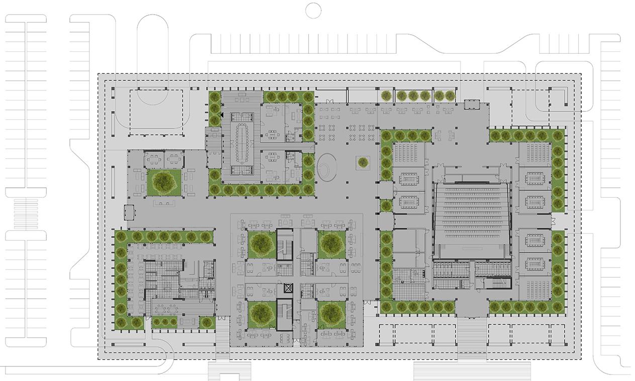 OIZ Office Plan Yazgan Design Architecture}