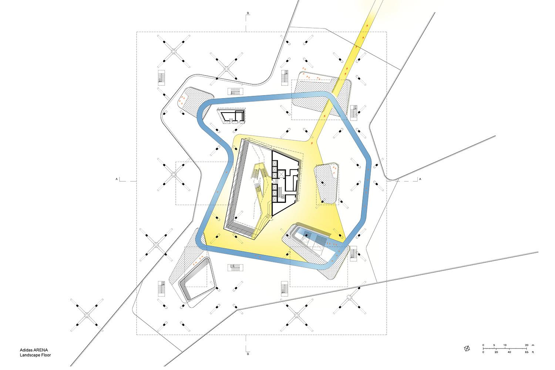 Landscape Floor Behnisch Architekten}