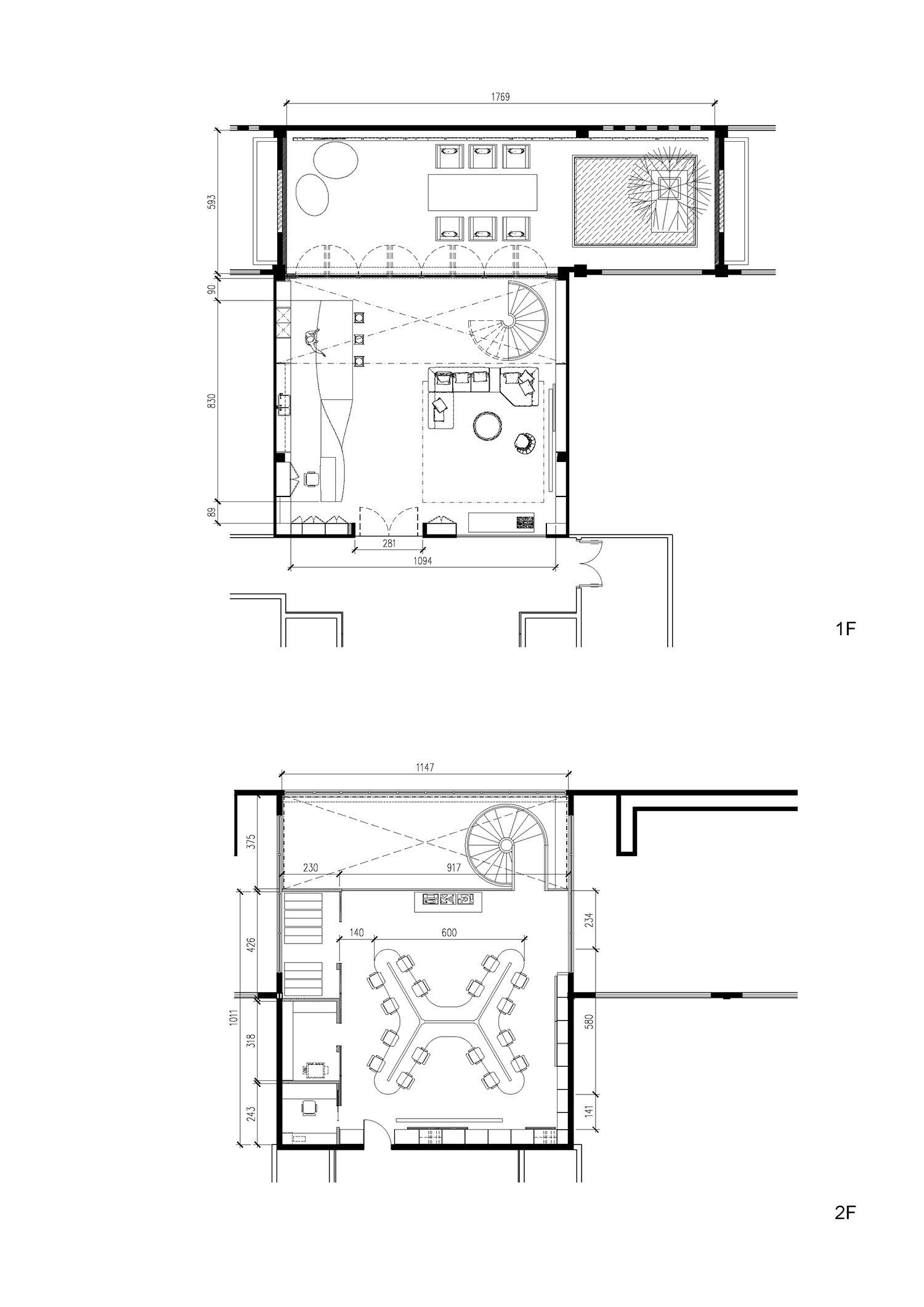 Floor plan 9Studio Design Group}