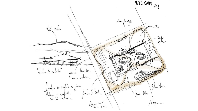 HQ Welcome - Sketch di progetto 03 ATIproject